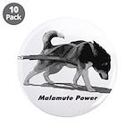 """Malamute Power 3.5"""" Button (10 pack)"""