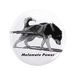 """Malamute Power 3.5"""" Button"""