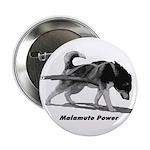 """Malamute Power 2.25"""" Button (100 pack)"""