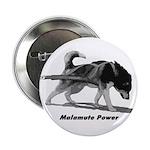 """Malamute Power 2.25"""" Button"""