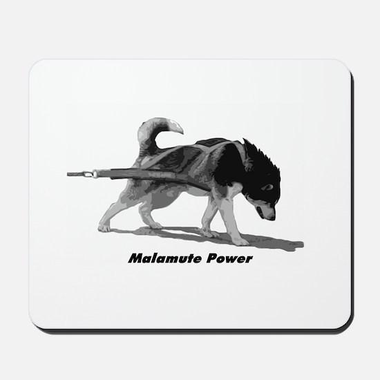 Malamute Power Mousepad