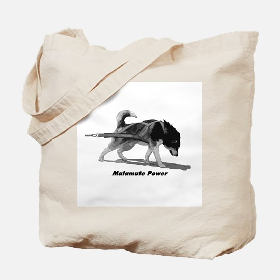 Malamute Power Tote Bag