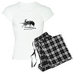 Malamute Power Women's Light Pajamas