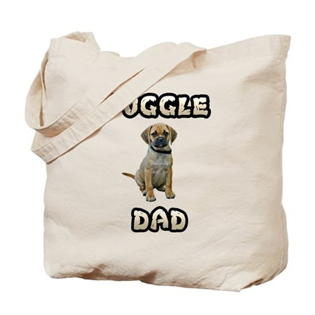Puggle Dad Tote Bag