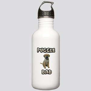 Puggle Dad Stainless Water Bottle 1.0L