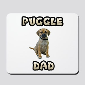 Puggle Dad Mousepad