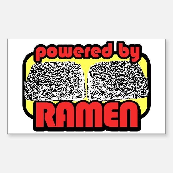 Ramen Power Rectangle Decal