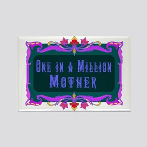 One in a Million Mother Rectangle Magnet