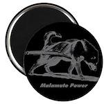 "Malamute Power 2.25"" Magnet (100 pack)"