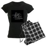 Malamute Power Women's Dark Pajamas