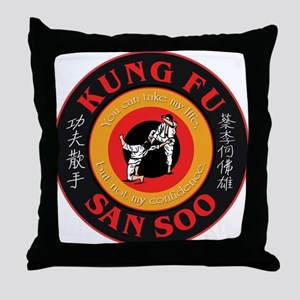 San Soo Throw Pillow