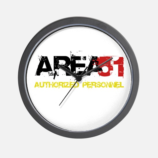 Area 51 Wall Clock
