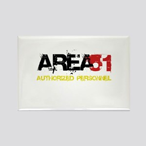 Area 51 Rectangle Magnet