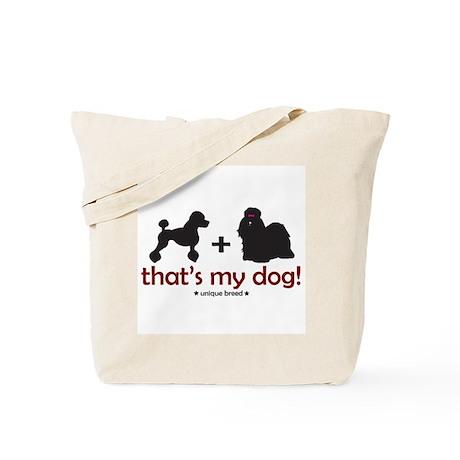 Poodle/Shih Tzu Tote Bag