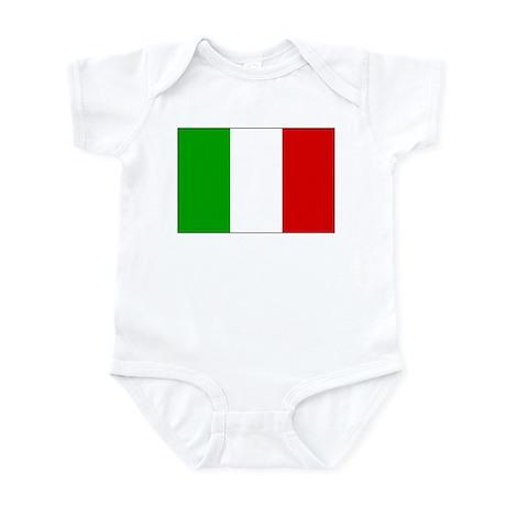 Italian Flag Infant Creeper