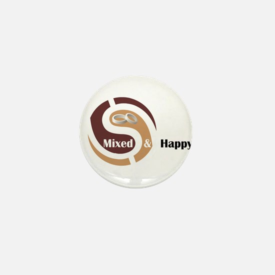 Cute Mixed marriages Mini Button