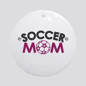 Soccer Mom Ornament (Round)