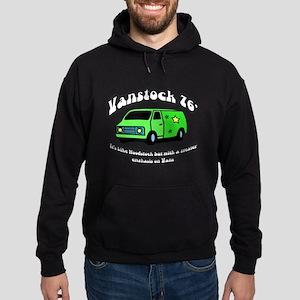 Vanstock 76 - White Text Hoodie (dark)