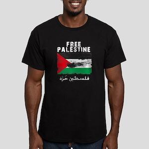 www.palestine-shirts.c Men's Fitted T-Shirt (dark)