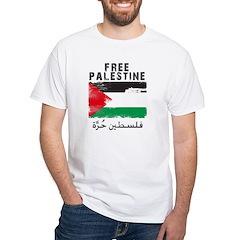 www.palestine-shirts.com White T-Shirt