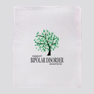 Bipolar Disorder Tree Throw Blanket
