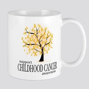 Childhood Cancer Tree Mug