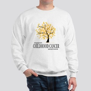 Childhood Cancer Tree Sweatshirt