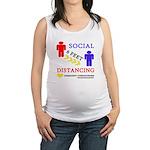 Social Distancing Maternity Tank Top