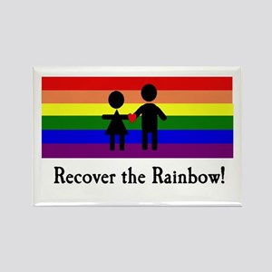 Recover the Rainbow Rectangle Magnet