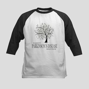Parkinson's Disease Tree Kids Baseball Jersey