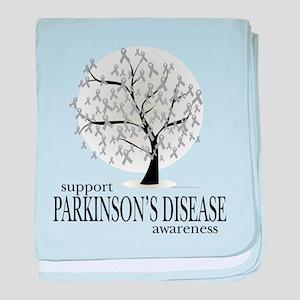 Parkinson's Disease Tree baby blanket