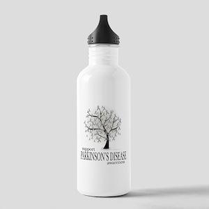 Parkinson's Disease Tree Stainless Water Bottle 1.