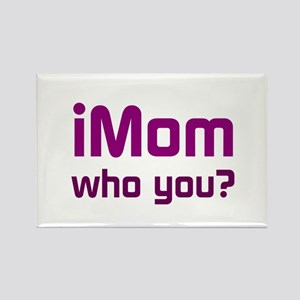 iMom (purple) Rectangle Magnet