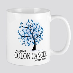 Colon Cancer Tree Mug