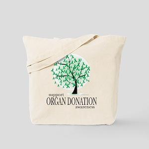 Organ Donation Tree Tote Bag