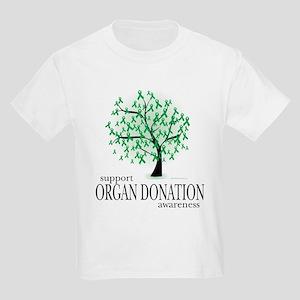 Organ Donation Tree Kids Light T-Shirt