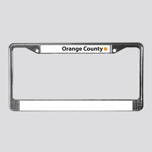 Fresh OC License Plate Frame