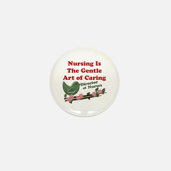 Cute Emergency nurse Mini Button