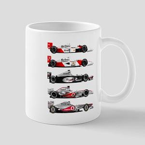 F1 grid Mugs