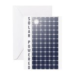 Solar Panel Greeting Card