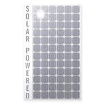 Solar Panel Sticker (Rectangle 50 pk)