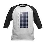 Solar Panel Kids Baseball Jersey
