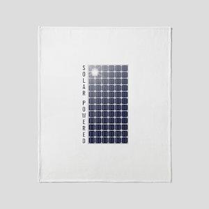 Solar Panel Throw Blanket