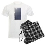 Solar Panel Men's Light Pajamas