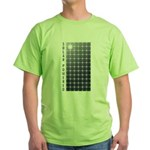Solar Panel Green T-Shirt