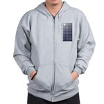 Solar Panel Zip Hoodie