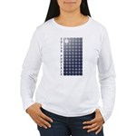 Solar Panel Women's Long Sleeve T-Shirt