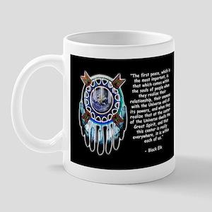 Black Elk Quote Mug