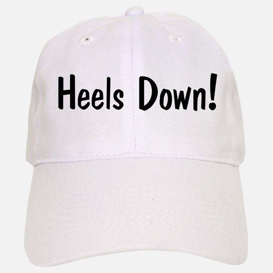 heels down horse saying Cap