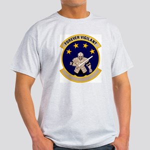 800th Security Police Ash Grey T-Shirt